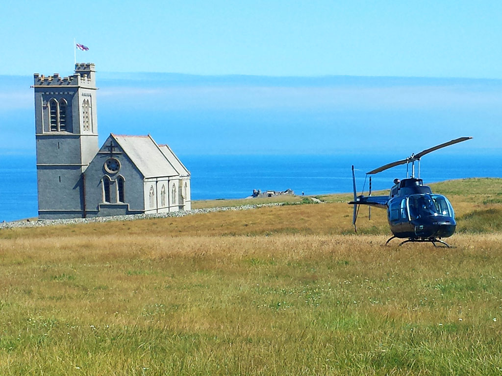 Lundy Heliport