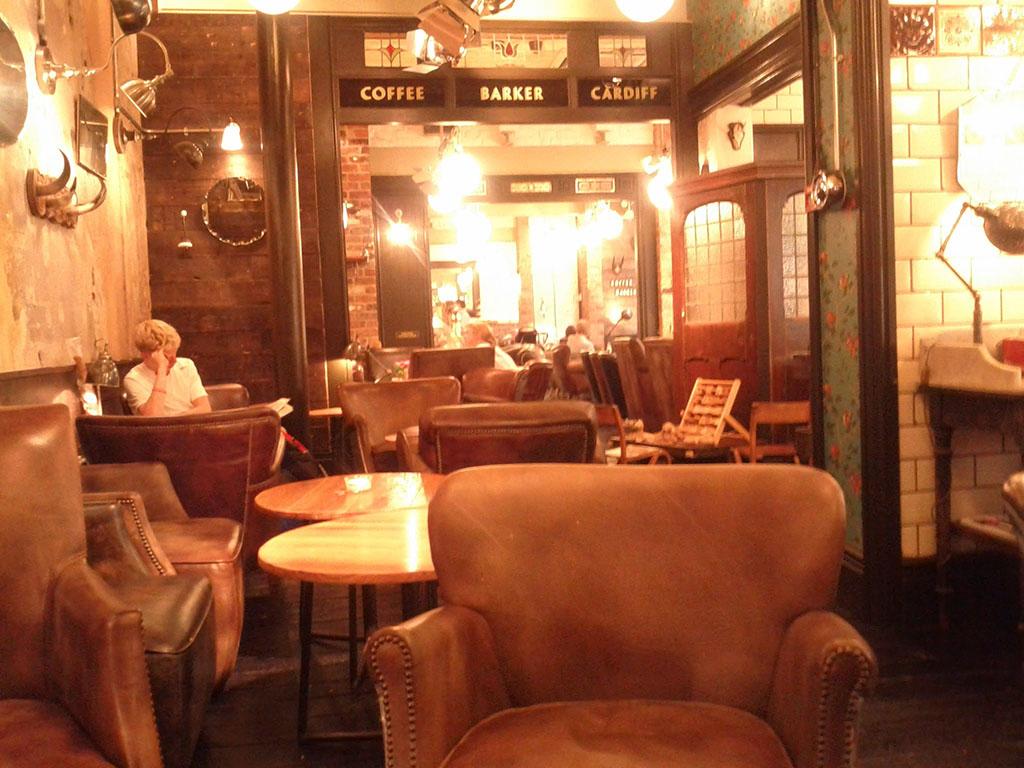 Coffee Barker, Cardiff