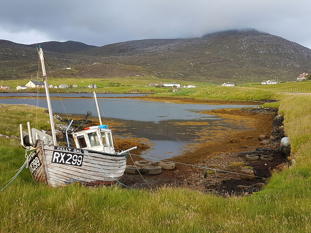 Fisherboat on Harris