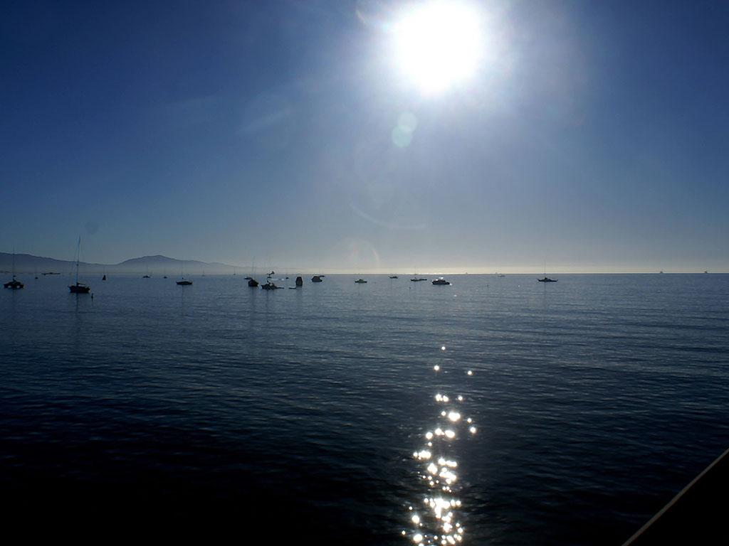 Santa Barabara Marina at Dawn